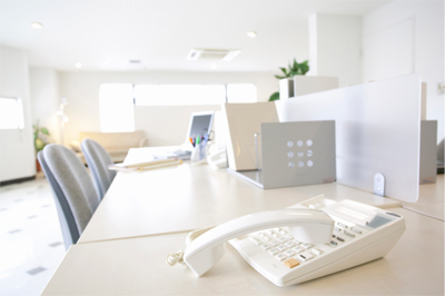 ビジネスフォン:室内イメージ