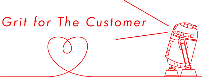 Grit for the Customer