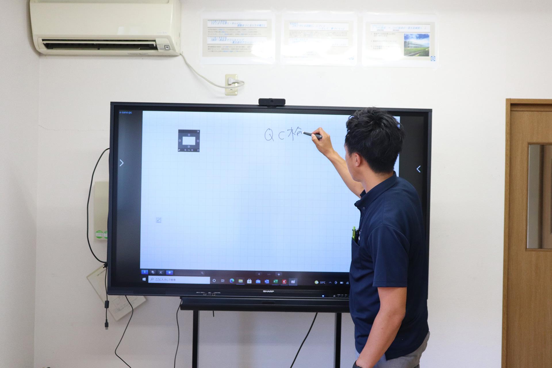 シラネ精工様_BigPad導入実績04